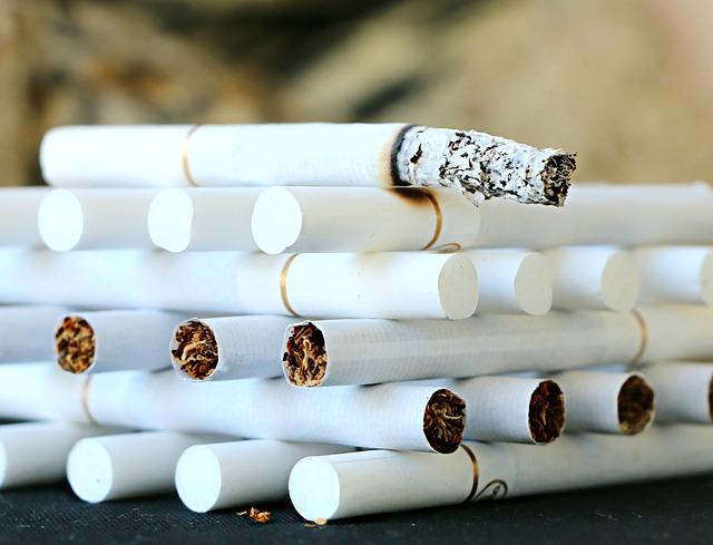 Zigarette Postmoderne